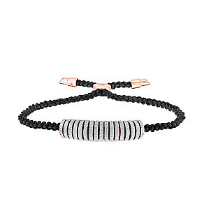 Amanda Wakeley Icon rose gold-plated silver diamond bracelet - Product number 3842193