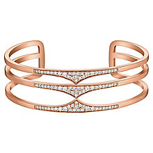 Amanda Wakeley Rebel rose gold-plated silver triple cuff - Product number 3842800