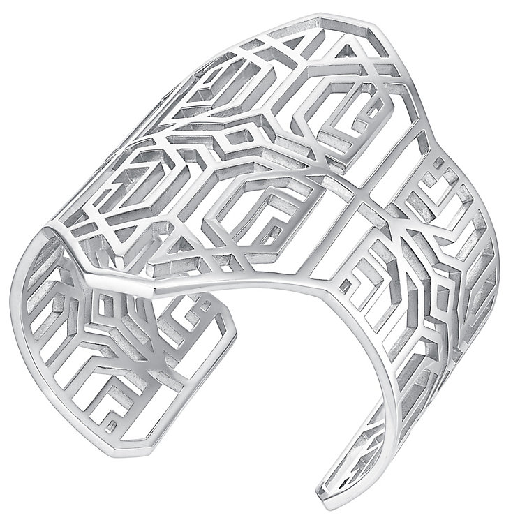 Amanda Wakeley Deco sterling silver cuff - Product number 3844781