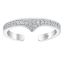 Amanda Wakeley Rebel sterling silver midi ring - Product number 3846679