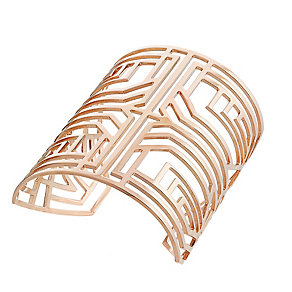 Amanda Wakeley Deco rose gold-plated silver cuff - Product number 3847993