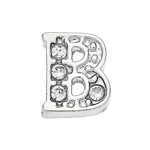 Lavish Lockets  Stone Set 'B' Charm - Product number 3859150