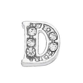 Lavish Lockets  Stone Set 'D' Charm - Product number 3859193
