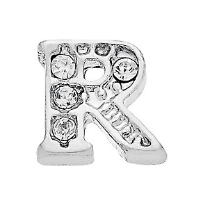 Lavish Lockets  Stone Set 'R' Charm - Product number 3859614