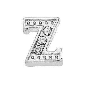 Lavish Lockets  Stone Set 'Z' Charm - Product number 3860043