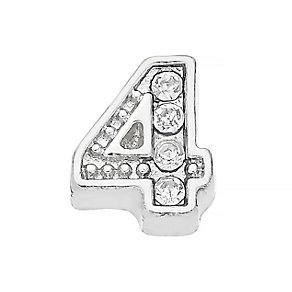 Lavish Lockets  Stone Set '4' Charm - Product number 3860116