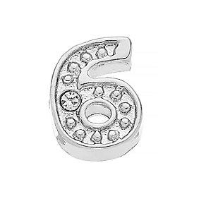 Lavish Lockets  Stone Set '6' Charm - Product number 3860124