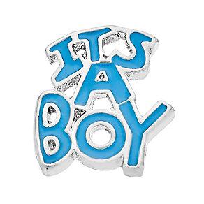 Lavish Lockets 'It's A Boy' Charm - Product number 3860183