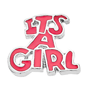 Lavish Lockets 'It's A Girl' Charm - Product number 3860191