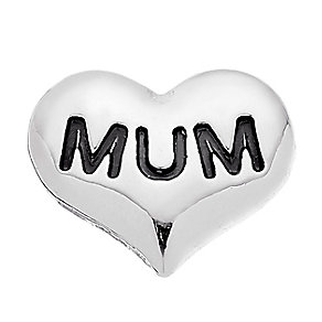 Lavish Lockets  Heart Shaped 'Mum' Charm - Product number 3860213