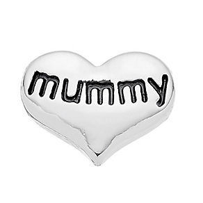 Lavish Lockets  Heart Shaped 'Mummy' Charm - Product number 3860221