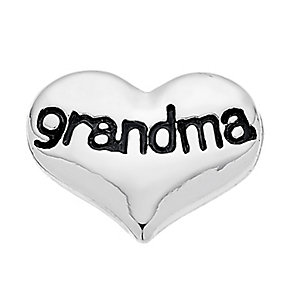 Lavish Lockets  Heart Shaped 'Grandma' Charm - Product number 3860248