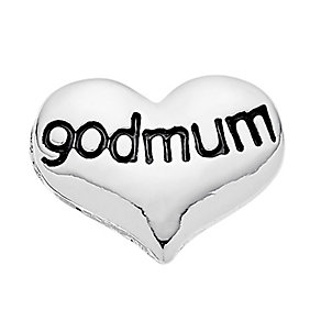 Lavish Lockets  Heart Shaped 'Godmum' Charm - Product number 3860426