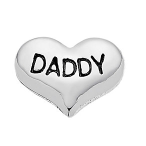 Lavish Lockets  Heart Shaped 'Daddy' Charm - Product number 3860434