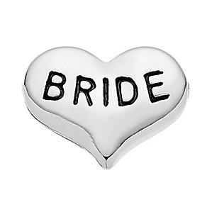 Lavish Lockets 'Bride' Heart Charm - Product number 3860469
