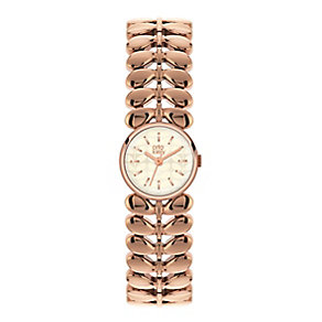 Orla Kiely Ladies' Rose Gold-Plated Bracelet Watch - Product number 3861309