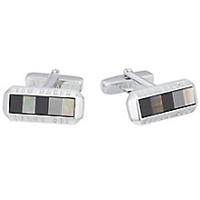 Ted Baker Stainless Steel Cufflinks - Product number 3861708