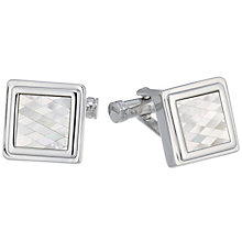 Ted Baker Stainless Steel Mosaic Cufflinks - Product number 3862038
