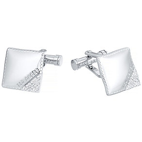 Ted Baker Stainless Steel Square Cufflinks - Product number 3862569