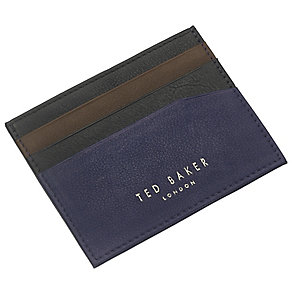 Tad Baker Black Leather Wallet and Cardholder Gift Set - Product number 3862585