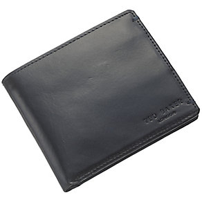 Ted Baker Black Leather Wallet with Coin Pocket - Product number 3862607