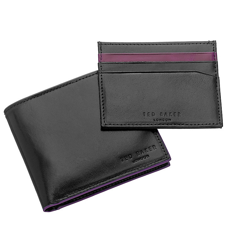 Ted Baker Men's Black Leather Wallet and Cardholder - Product number 3862623