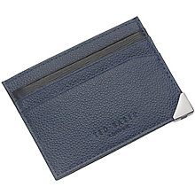 Ted Baker Navy Leather Cardholder - Product number 3862658