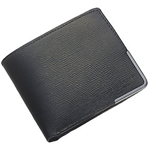 Ted Baker Black Leather Wallet with Coin Pocket - Product number 3862690