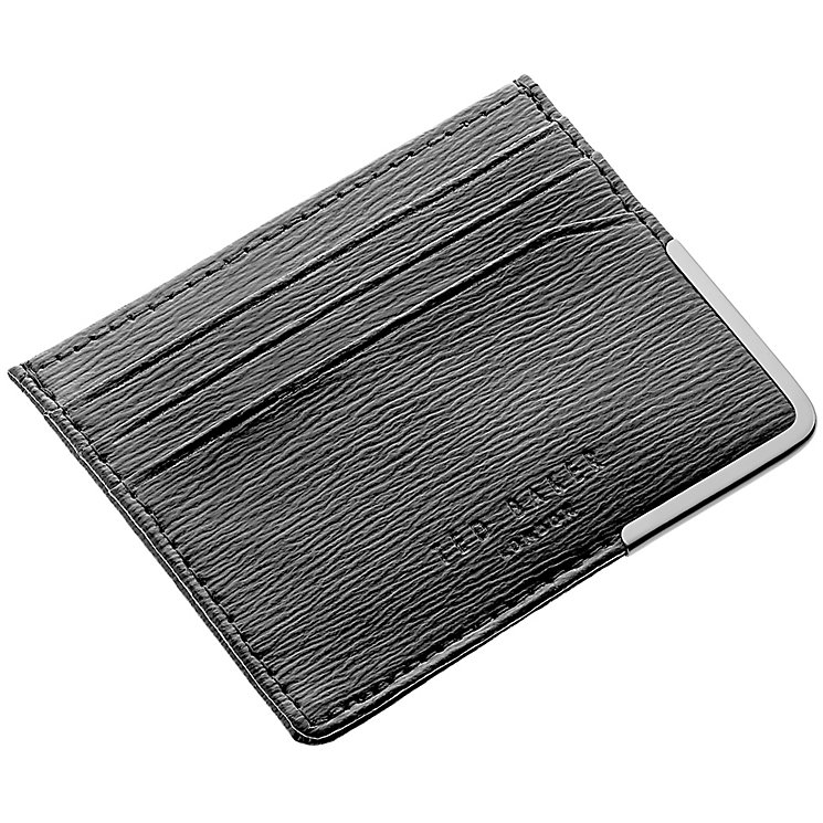 Ted Baker Black Leather Card Holder - Product number 3862801