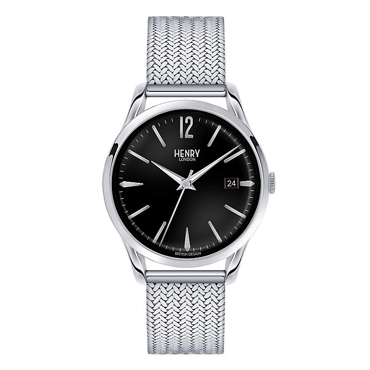 Henry London Men's Edgware Mesh Bracelet Watch - Product number 3870081