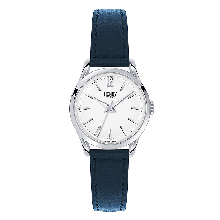 Henry London Ladies' Knightsbridge Silver Dial Strap Watch - Product number 3870162