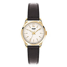 Henry London Ladies' Knightsbridge Gold Dial Strap Watch - Product number 3870537