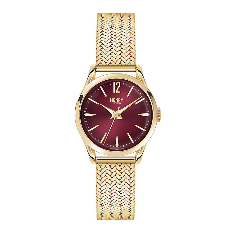 Henry London Ladies' Holborn Gold-Plated Bracelet Watch - Product number 3870960