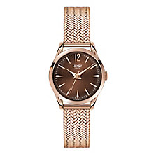 Henry London Ladies' Harrow Rose Gold-Plated Bracelet Watch - Product number 3871304