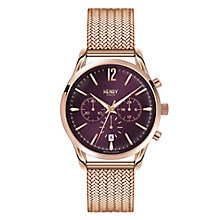 Henry London Ladies' Hampstead Rose Gold-Plated Watch - Product number 3871541