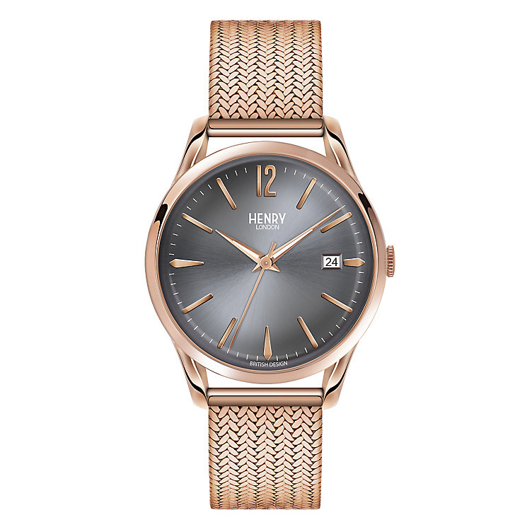 Henry London Ladies' Finchley Rose Gold-Plated Watch - Product number 3871614