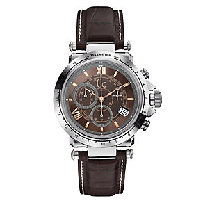 GC men's stainless steel strap watch - Product number 3873684