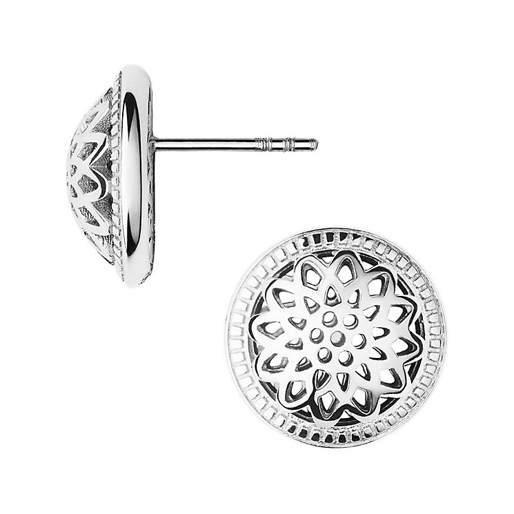 Links of London Timeless Sterling Silver Domed Stud Earrings - Product number 3884724