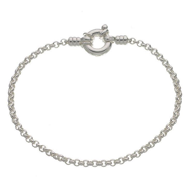 Links of London Sterling Silver Mini Belcher Bracelet 18cm - Product number 3884848