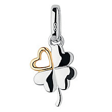 Links of London Silver & Gold-Plated Lucky In Love Charm - Product number 3884961