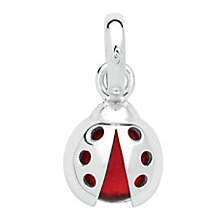 Links of London Sterling Silver Lucky Ladybird Charm - Product number 3884996