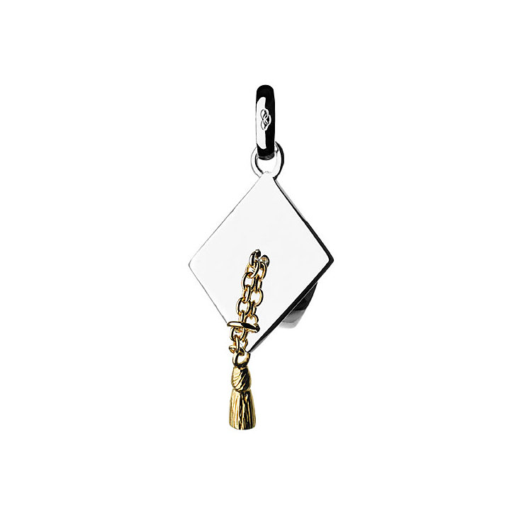 Links of London Silver & Gold-Plated Graduation Charm - Product number 3885054