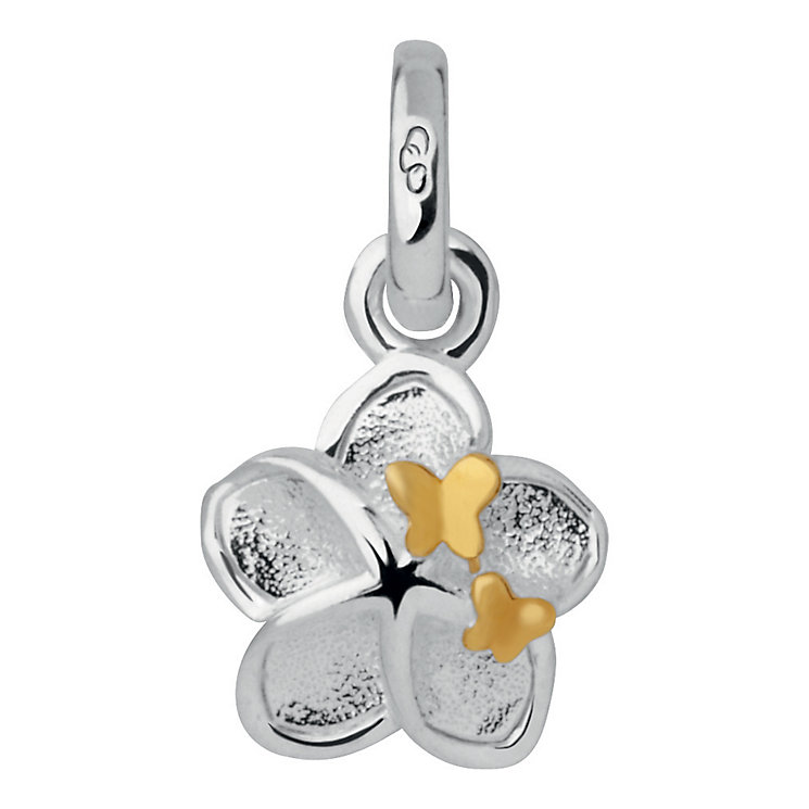 Links of London Sterling Silver Flower and Butterfly Charm - Product number 3885240