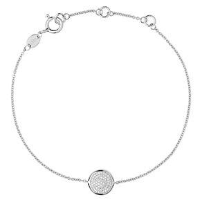 Links of London Sterling Silver Diamond Bracelet - Product number 3885321