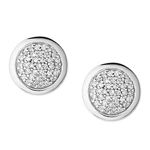 Links of London Sterling Silver Diamond Stud Earrings - Product number 3885348
