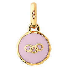 Links of London Gold-Plated Silver Strawberry Macaron Charm - Product number 3885380