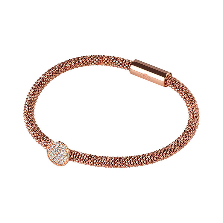 Links of London Star Dust 18ct Rose Gold Vermeil Bracelet - Product number 3885488