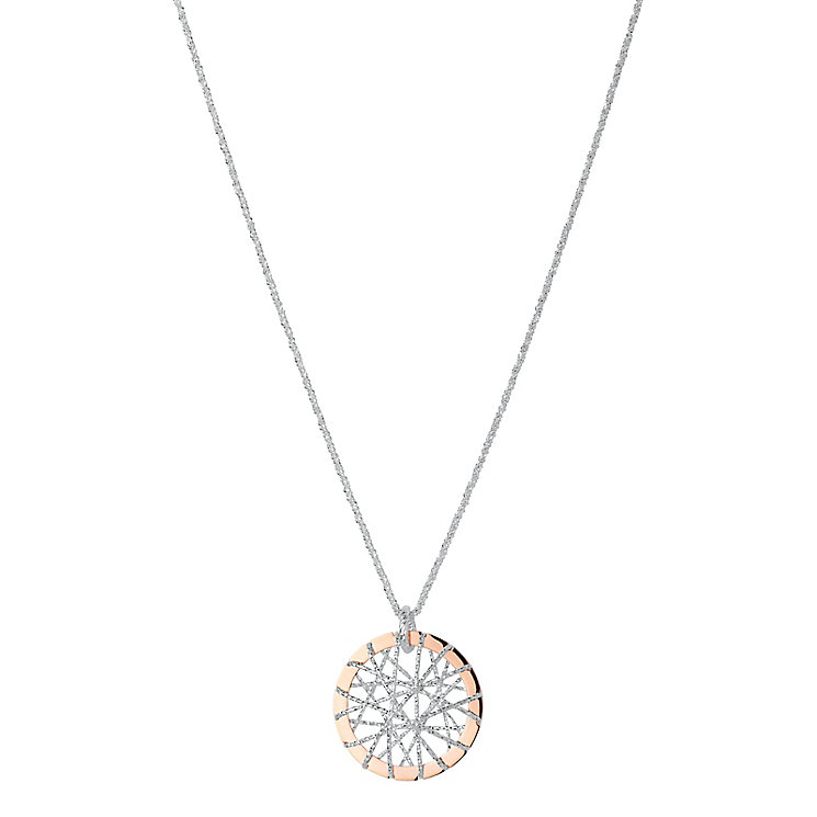 Links of London Dreamcatcher18ct Rose Gold Vermeil Necklace - Product number 3885518