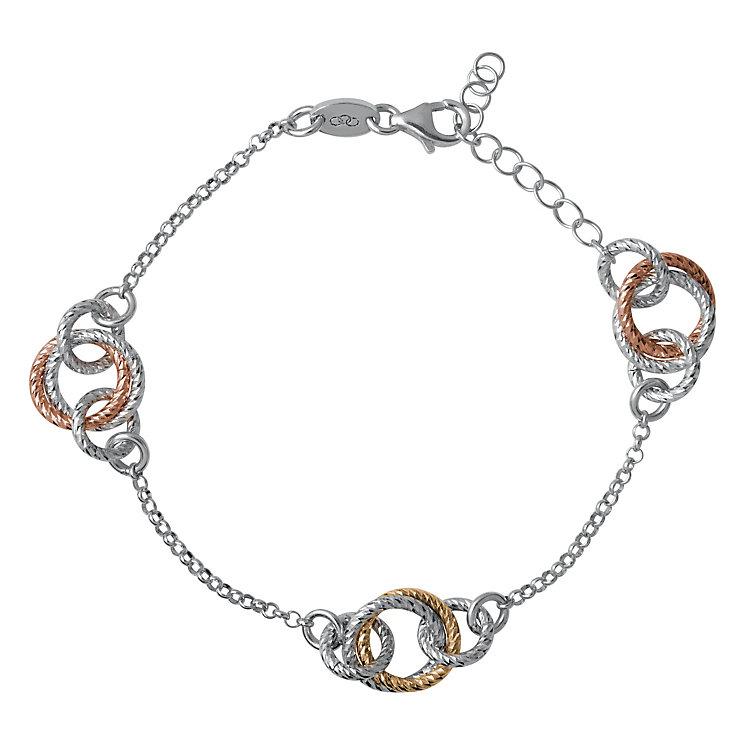 Links of London Aurora Gold Vermeil Cluster Link Bracelet - Product number 3885836