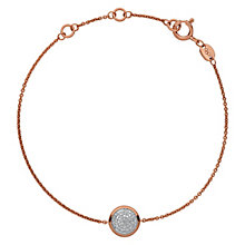 Links of London 18ct Rose Gold Vermeil Diamond Bracelet - Product number 3886131